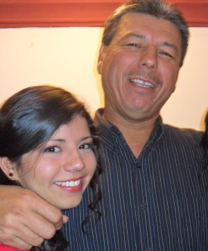 The only pic I could find with my dad, and I had to crop my sister... True story